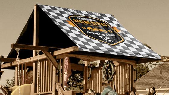 Piston Challenge Racing Playset Roof Tarp