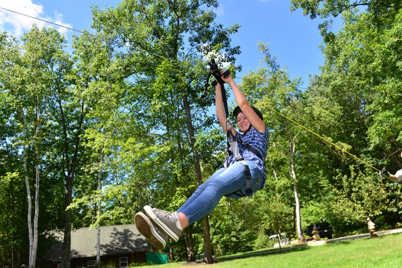 Backyard Zip Line Reviews alien flier x2 zip line kit with harness - swingsetmall
