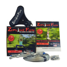 Zipline Fun Xtreme 90 ft Zip Line (ZLX)