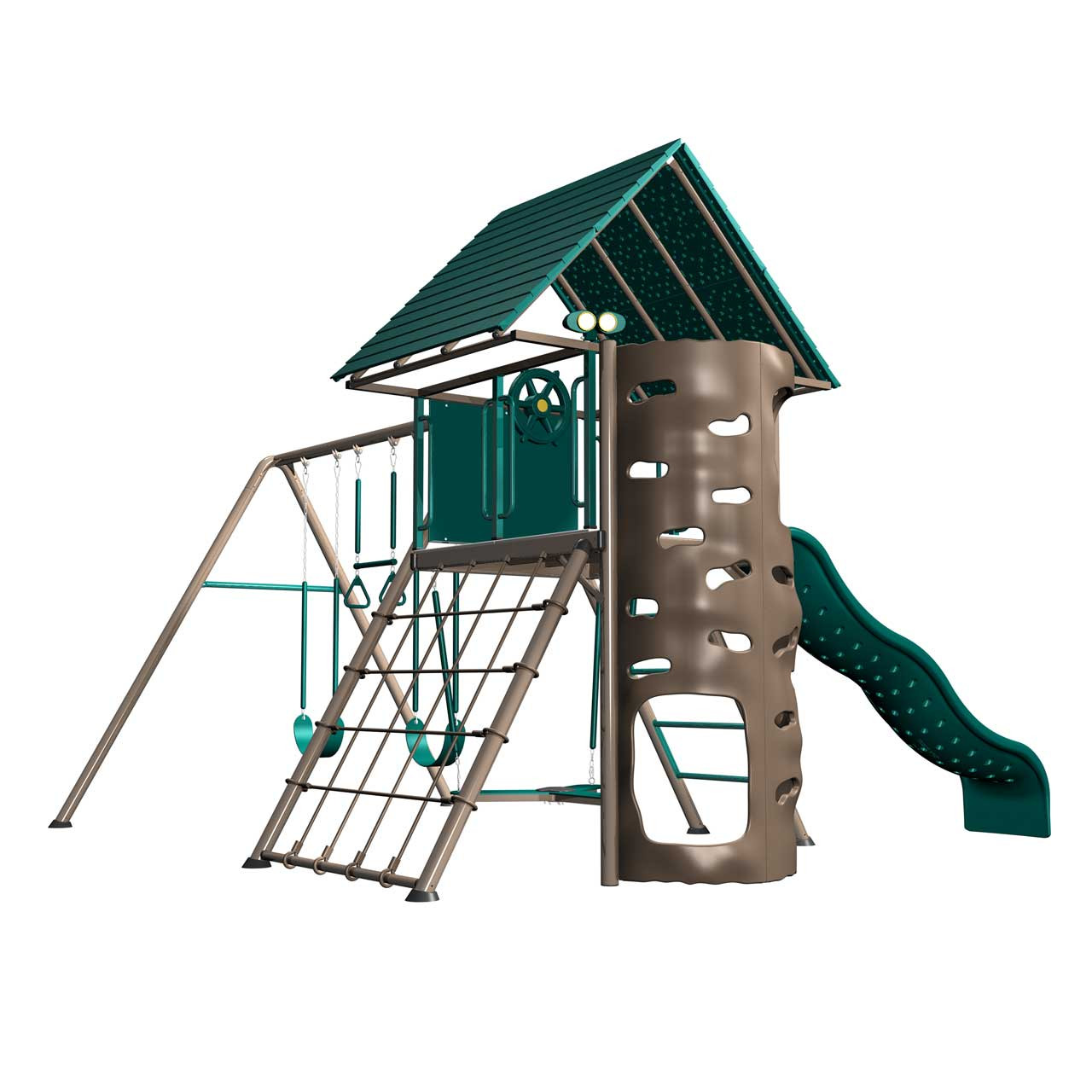 Lifetime Heavy Duty Metal Playset With Clubhouse