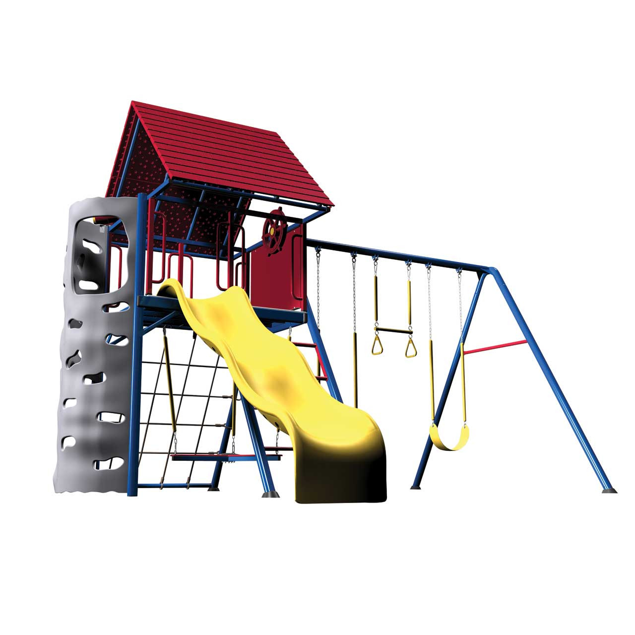 Lifetime Heavy Duty Metal Playset With Clubhouse   Primary