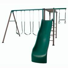 Lifetime Monkey Bar Adventure Swing Set - Earthtone