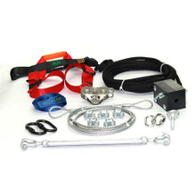 Ultimate Torpedo Zip Line Kit with Harness