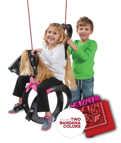 Pony Pal Recycled Tire Swing
