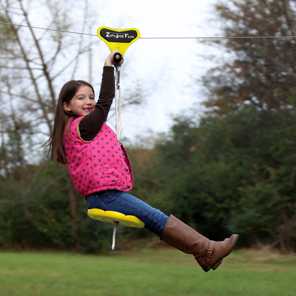 backyard zip lines swingsetmall com