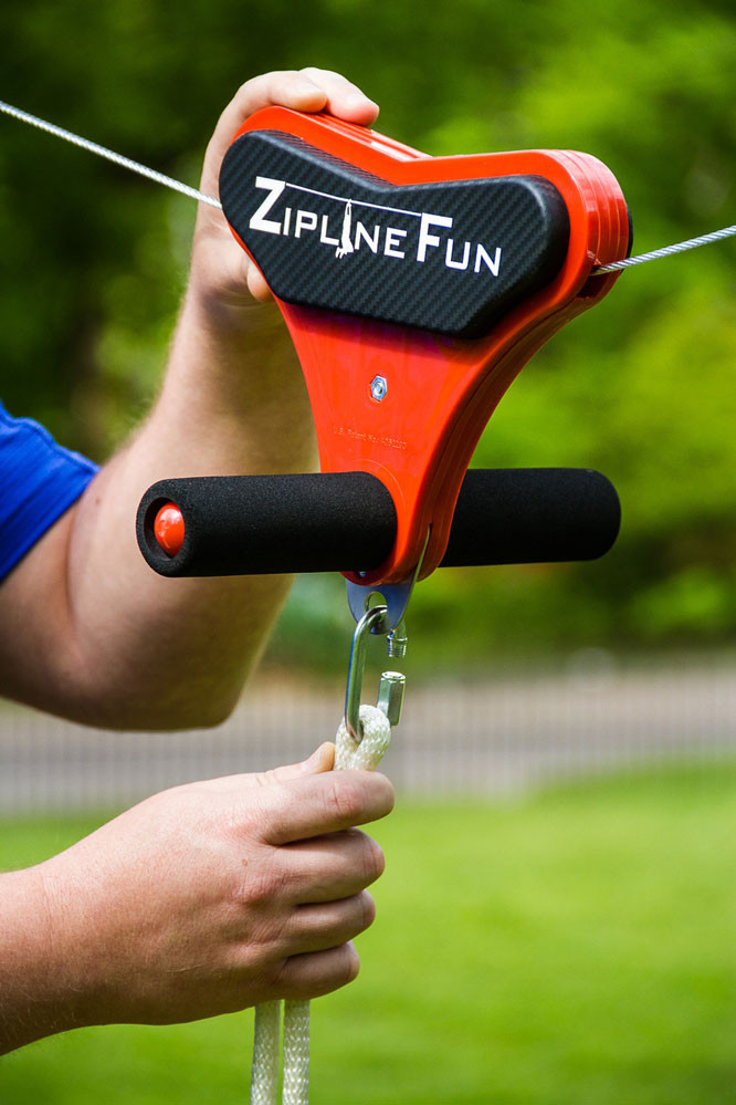 Zipline Fun Disc Seat Swingsetmall Com
