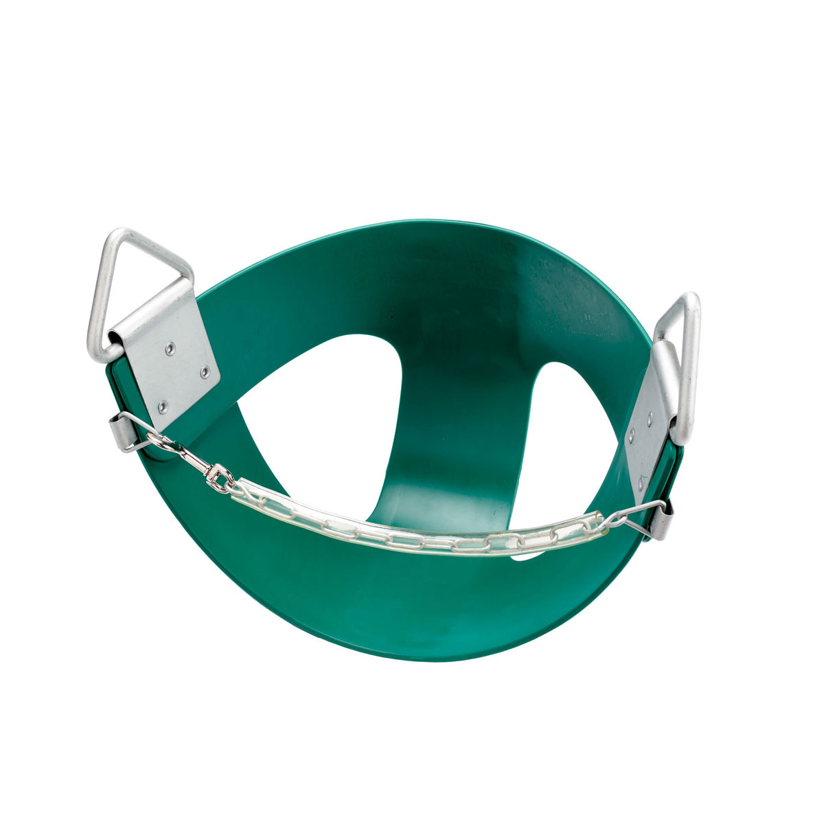Commercial Rubber Half Bucket Swing Seat - Green