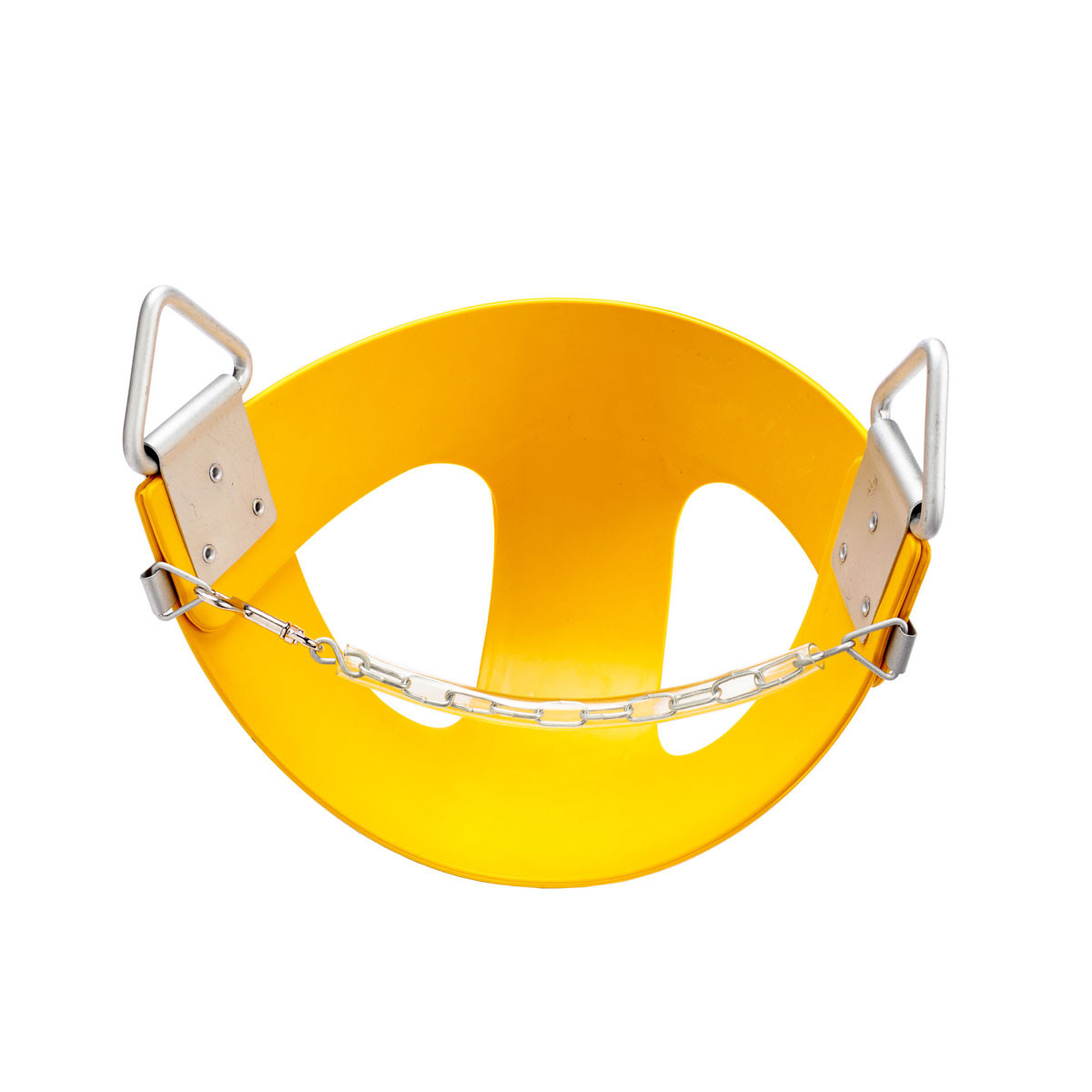 Commercial Rubber Half Bucket Swing Seat - Yellow