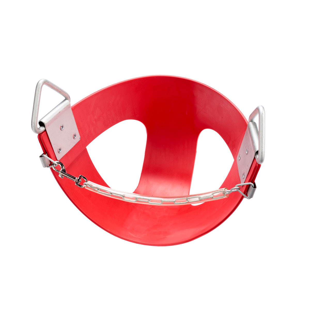 Commercial Rubber Half Bucket Swing Seat - Red