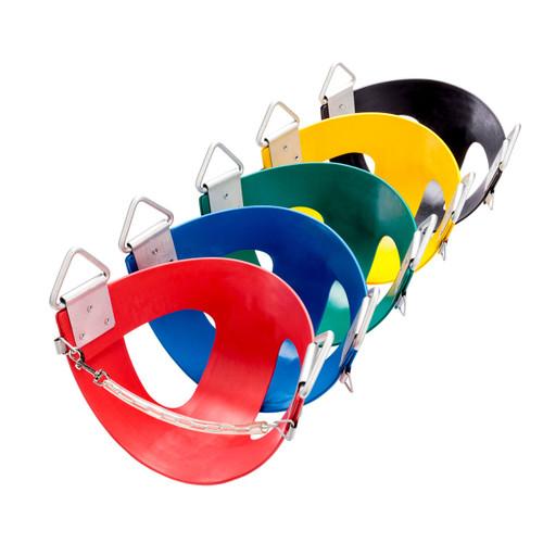 Commercial Rubber Half Bucket Swing Seat (S-14)