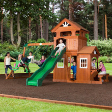 Shenandoah Wooden Swing Set (65413com)