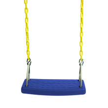 "Molded Flat Swing Seat with 5'6"" Heavy Duty Chain (S-177)"