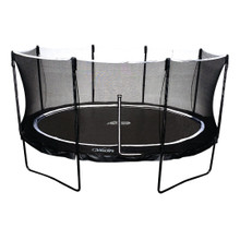 SkyBound Orion Oval Trampoline with Full Enclosure Net