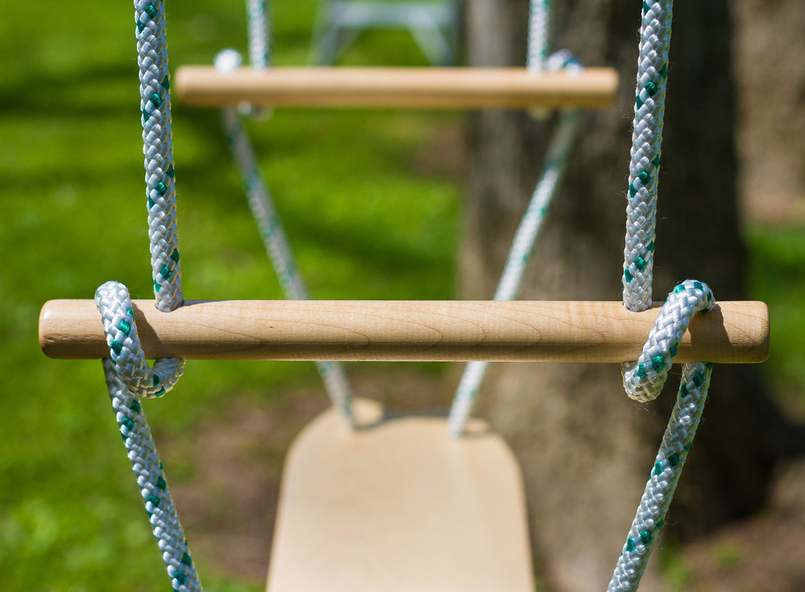 Air Surfer Classic Swing - Maple Handles and Deck