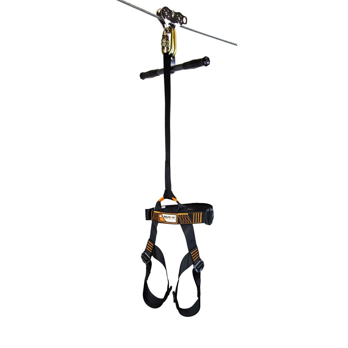 Ultimate Torpedo Zip Line Kit - Harness