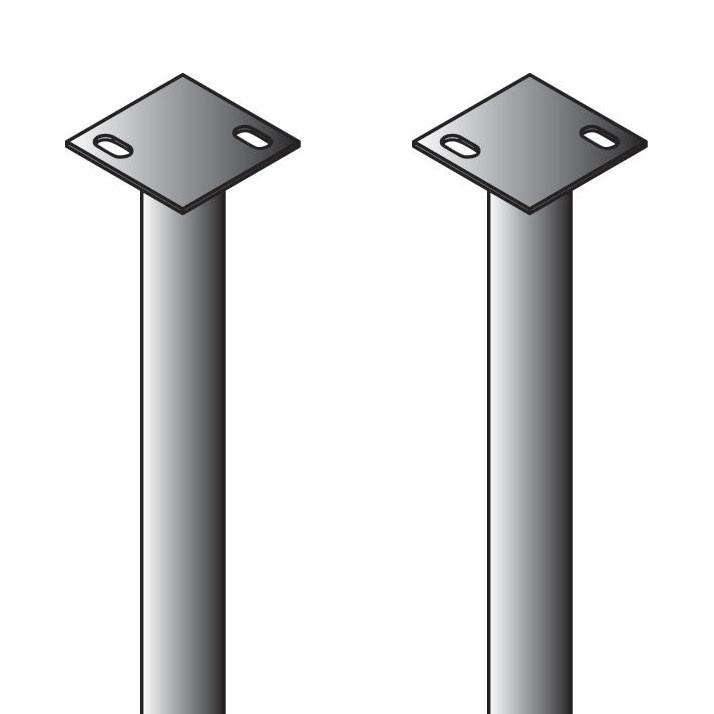 Flared Double Slide Universal Foot Buck (Set of 2) (6510-00034K-00-00)