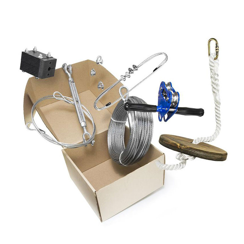 ZiplineGear Chetco Zip Line Kit with Seat