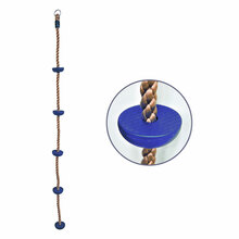 7 ft Climbing Rope with Steps (C-3R-B)