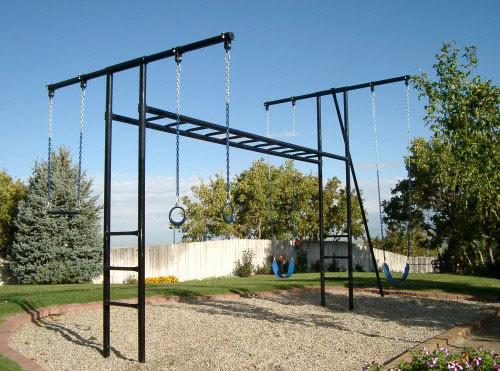 Metal Horizontal Ladder Swing Set (CP-HL50)