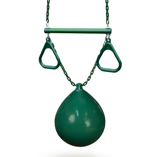 Buoy Ball with Trapeze Bar Swing (04-0012)