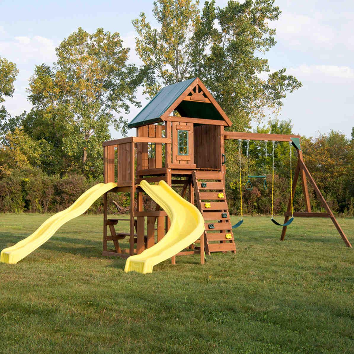 Castlebrook Complete Swing Set (WS-8355)