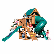 Denali Tower Complete Swing Set (WS-8358) Children Playing