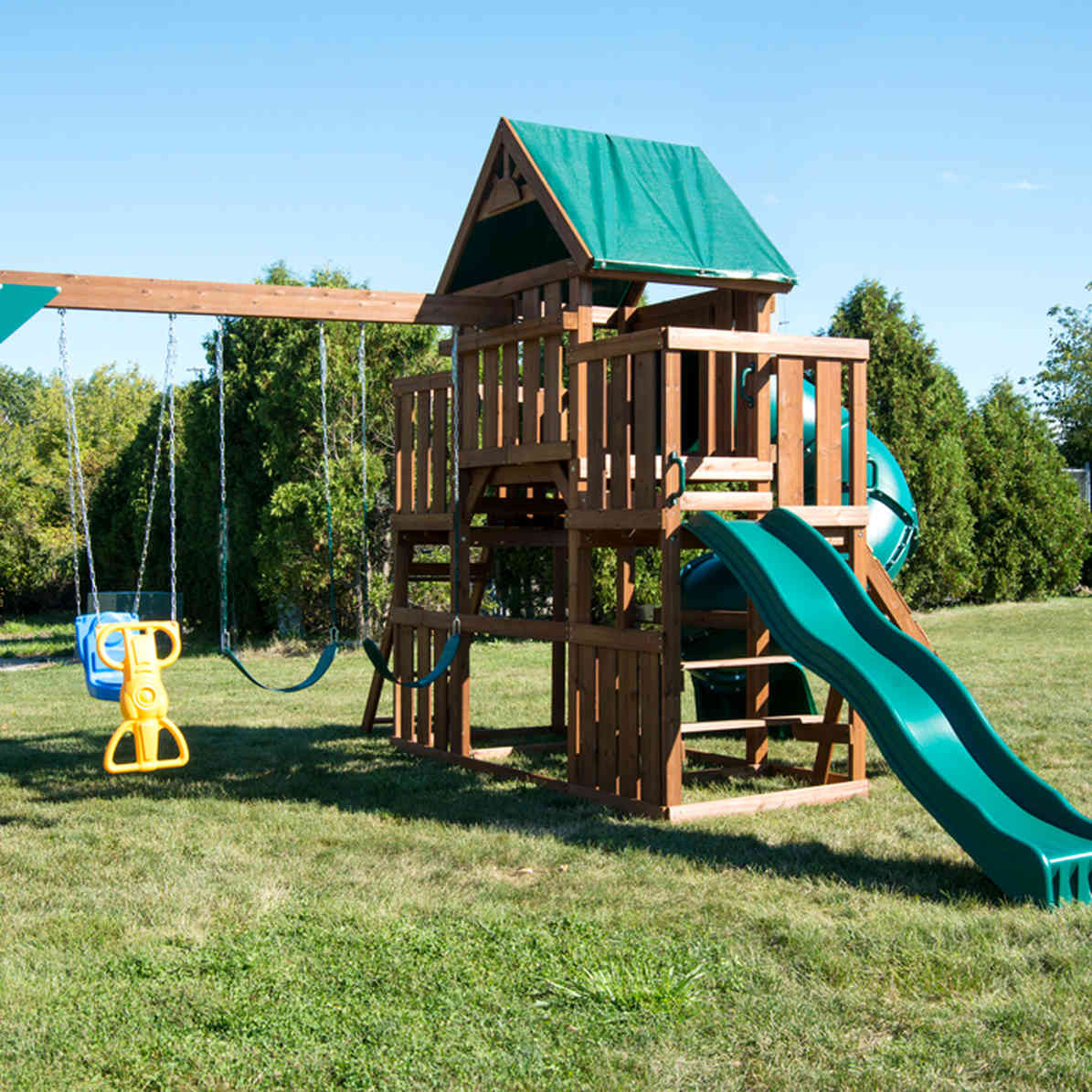 Denali Tower Complete Swing Set (WS-8358)