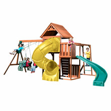 Grandview Twist Deluxe Complete Swing Set (PB-8272-TY)