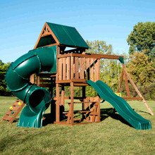 Tellico Terrace Complete Swing Set (WS-8359)