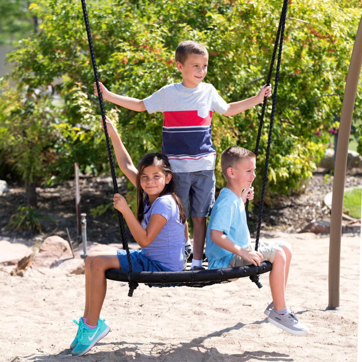 Lifetime Adventure Tower with Spider Swing (90804) - Spider Swing