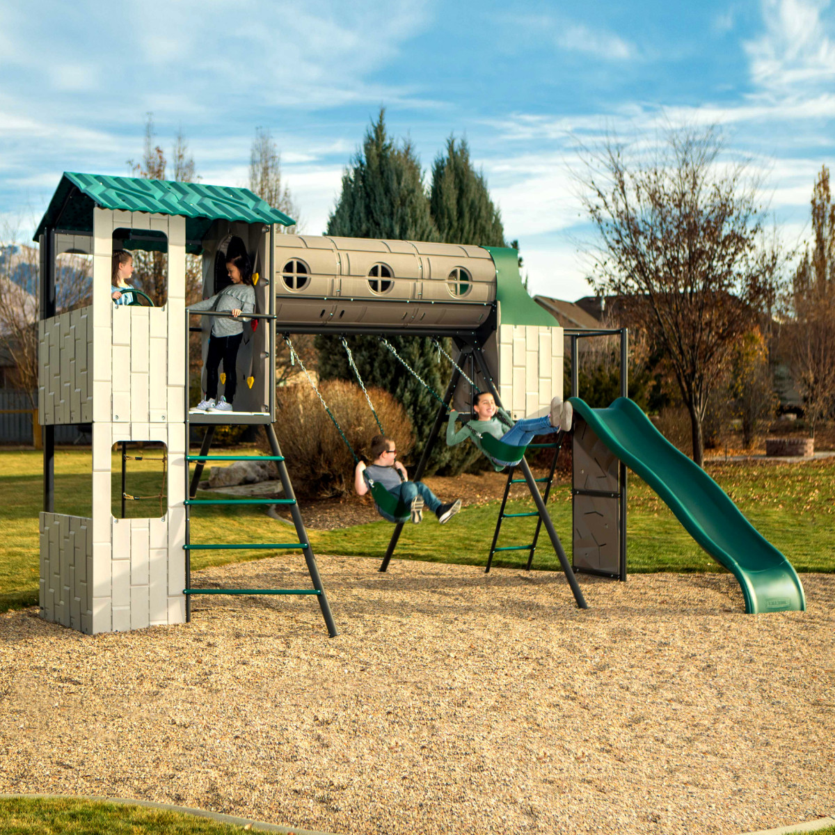 Lifetime Adventure Tunnel Playset (290704) - Front Lifestyle