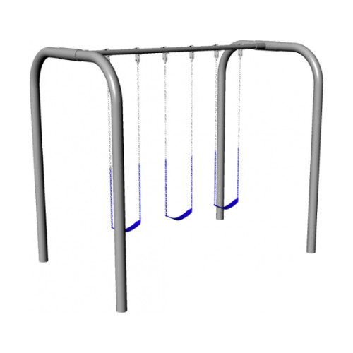 Arch Frame Swing Set (3 Swings) (CP-AR30) Render