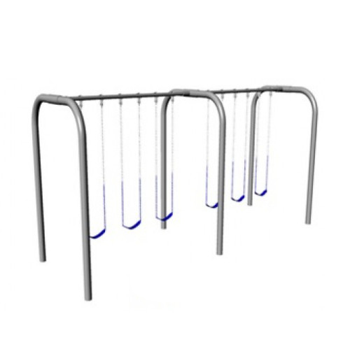Arch Frame Swing Set with 6 Swings (CP-AR60) - Render