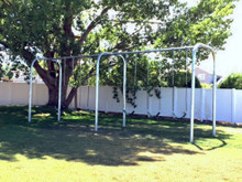 Arch Frame Swing Set with 6 Swings (CP-AR60) - Front