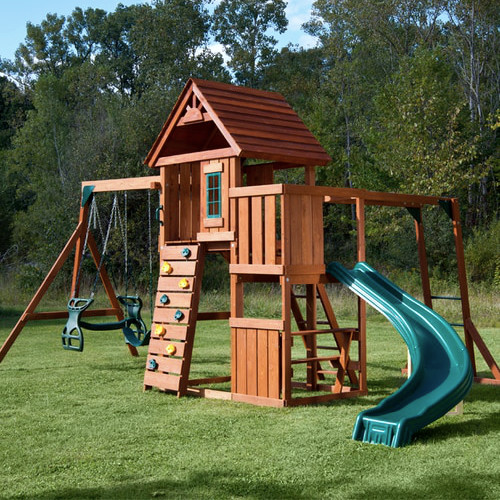Cedar Brook Complete Swing Set (PB-8272)