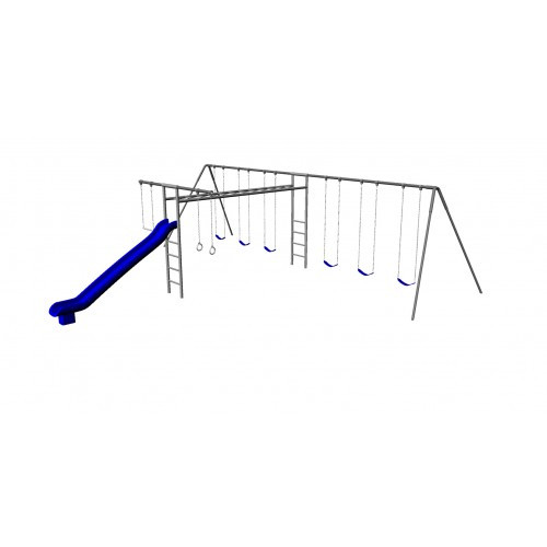 Metal Super Swing Set with 6 Swings (CP-SS38)