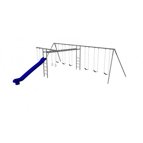 Metal Super Swing Set with 6 Swings (CP-SS38)