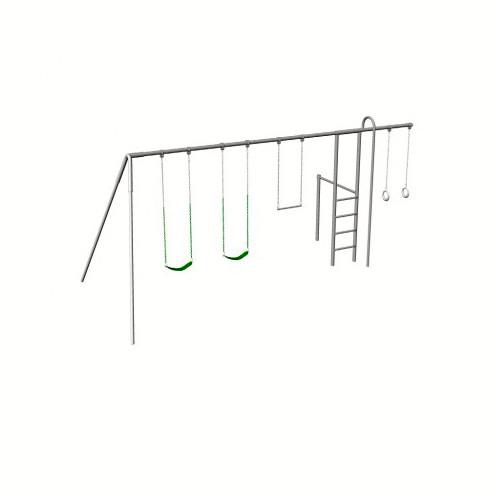 Monkey Tree Swing Set with Fire Pole (CP-MT30)