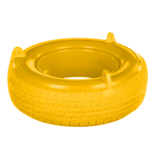 Red Rotomolded Plastic Tire Swing (PT-02)