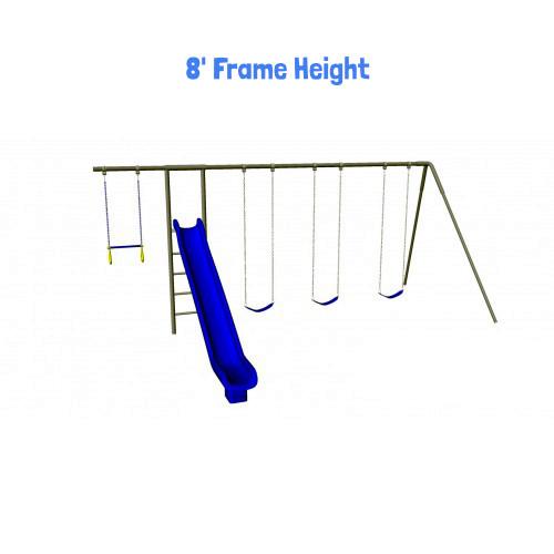 Monkey Tree Swing Set with Slide (CP-MT32)