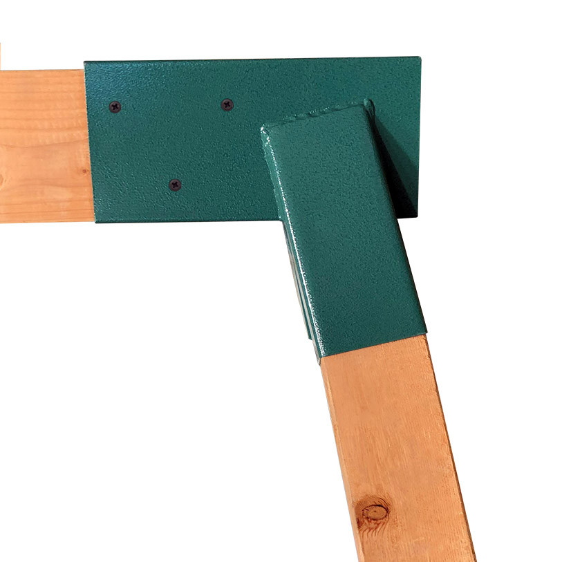 End Frame Fitting for Wooden Swing Sets (Set of 2) (EFF2W)