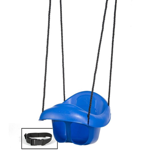 Plastic Toddler Swing with Lap Belt (PS-7952)