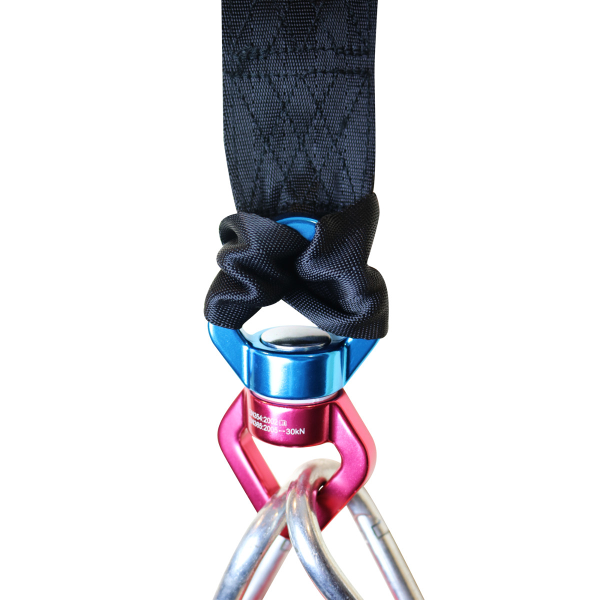 10 ft Tree Swing Strap with Cyclone Spinner Swivel (MM00168)
