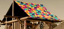 Polka Dot Playset Roof Tarp (TRP-0029)