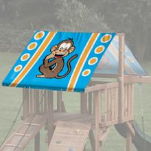 Animal Theme Playset Roof Tarp - Monkey