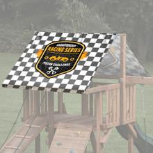 Car Theme Playset Roof Tarp - Piston Racing