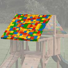Building Blocks Playset Roof Tarp (TRP-0020)