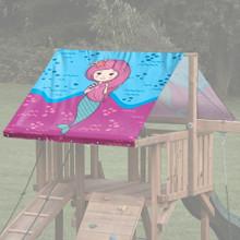 Mermaid Theme Playset Roof Tarp - Mermaid