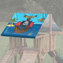 Pirate Theme Playset Roof Tarp - Pirate Scene