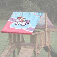 Unicorn Playset Roof Tarp (TRP-0051)